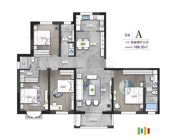 4室2廳3衛
