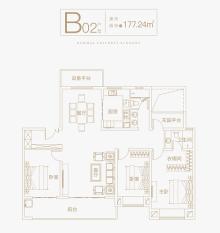 B02户型