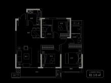 110㎡三室两厅两卫