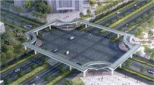 新鄉第一座過街天橋要開建啦!就在寶龍廣場附近!