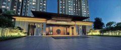 品质改善型高端住宅小区中式建筑容积率1.39