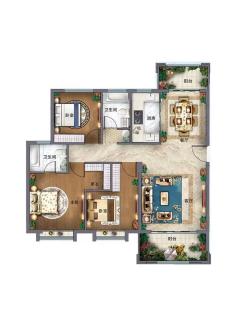 单价4500买电梯洋房,美好生活家园, 我有钥匙和房本,房东委托我来卖此房源,电话联系我看房