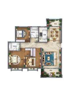 (新乡县)新乡美好生活家园3室2厅2卫126m²毛坯房出售 看房方便 可以面谈