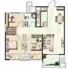 品质小区!(红旗区)绿都温莎城堡3室2厅1卫86m²全明户型 朝向采光好