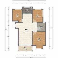 品质小区!(红旗区)嘉联橄榄城3室2厅1卫120m²全明户型 朝向采光好