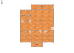 (红旗区)新飞花园精装三室房东诚心急售,看房预约,多层三楼