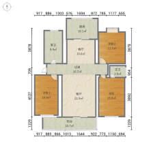 (红旗区)新飞花园3室2厅2卫116万142m²出售