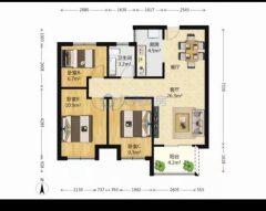 (红旗区)华地东城3室2厅1卫79.5万112m²出售