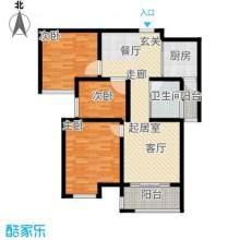 绿都城标准三室 中间楼层 总价73万
