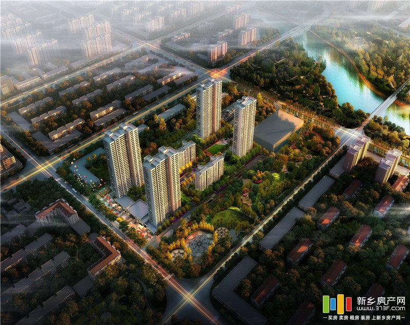 国悦城三期鸟瞰图