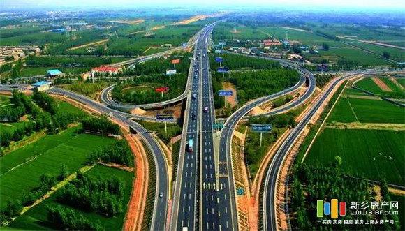 沿太行高速新乡段高速