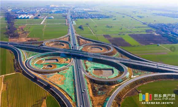 新乡境改建107国道