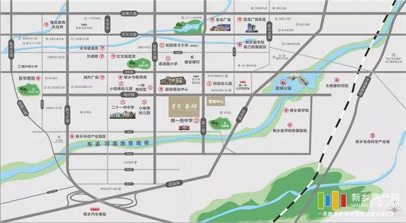 学府圣邸区位图