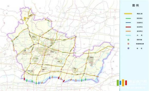 新乡市高速公路网规划图