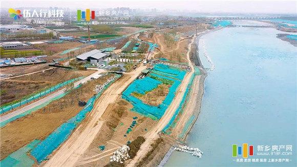 凤泉湖航拍图