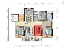 建业东敬府:魔变3+1户型 一所会成长的房子