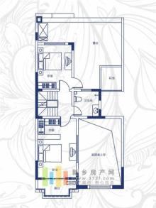 绿都温莎城堡二期A2户型(四层)