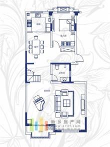 绿都温莎城堡二期A2户型(三层)