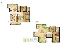 5+1洋房E户型(复式)